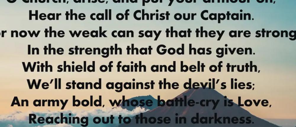 Hymns Online – O Church Arise