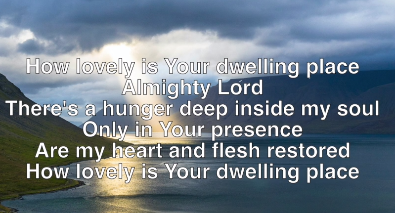 Hymns Online – How Lovely is Your Dwelling Place